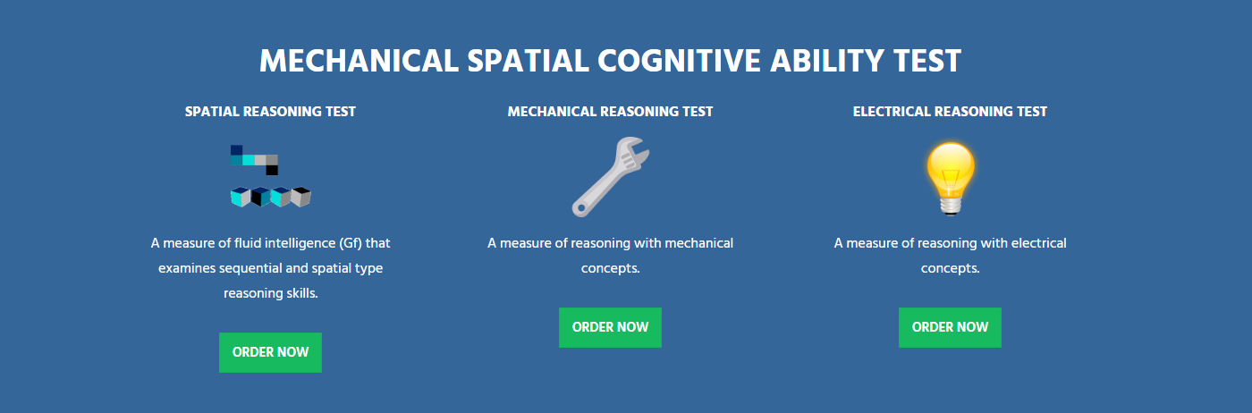 Mechanical Spatial Test