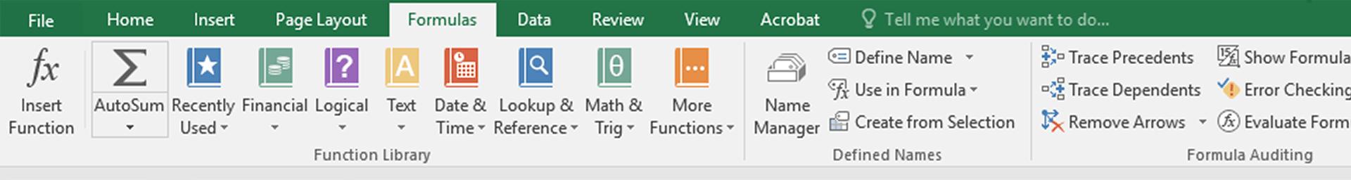 Excel Advanced Formulas